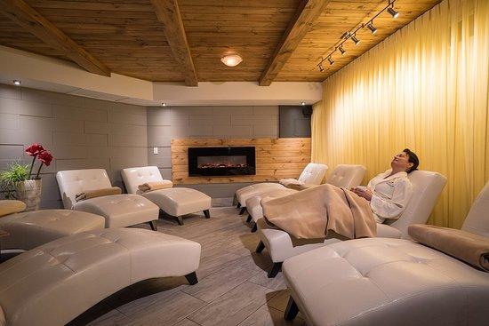 Saint-Ferdinand, Canada: Salle de relaxation
