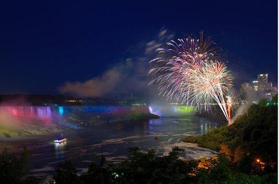 Crucero por las cataratas de Niagara...