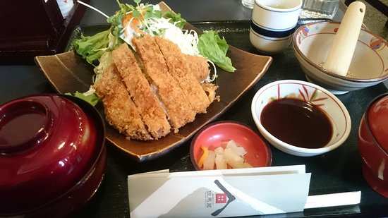 Yabu, Japan: 八鹿豚のトンカツ定食