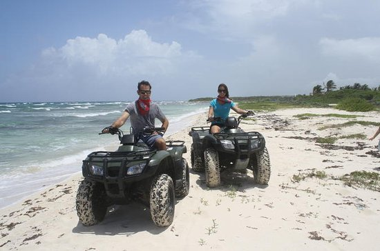 Cozumel Island to Mezcalitos ATV Seashore Adventure