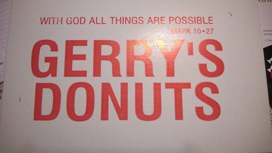 Ellington, CT: Dozen Donut Box