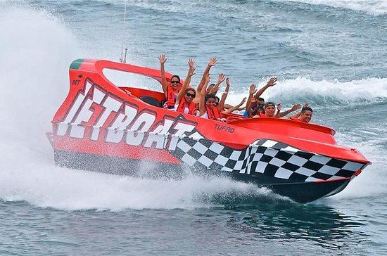 Thriller Jet Boat and Buccanos Beach ...