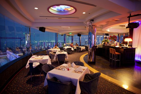 Three Sixty Revolving Restaurant Skybar Dining Room With A View