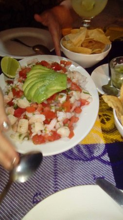 Dos Chíles: A picture truly IS worth a thousand words. This is the Seafood Ceviche