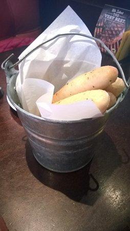 Гластонбери, Коннектикут: Bread Sticks