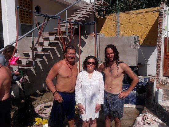 Taganga, Colombia: Mi instructorEdil y mi DiveMaster