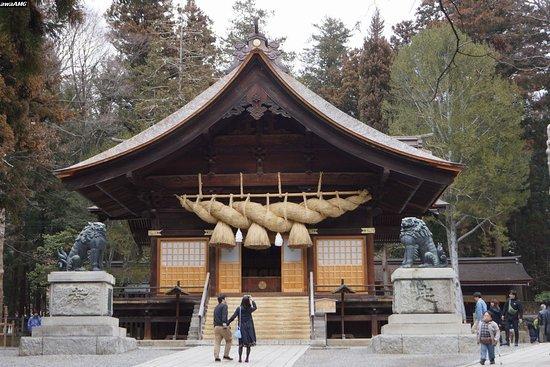 諏訪市, 長野県, 諏訪大社下社秋宮 神楽殿