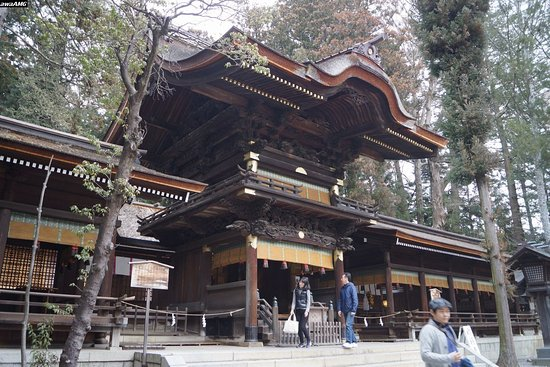 Suwa, Japón: 諏訪大社下社秋宮 幣拝殿