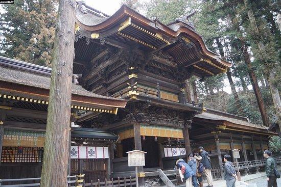 Suwa Shrine: 諏訪大社下社春宮 幣拝殿