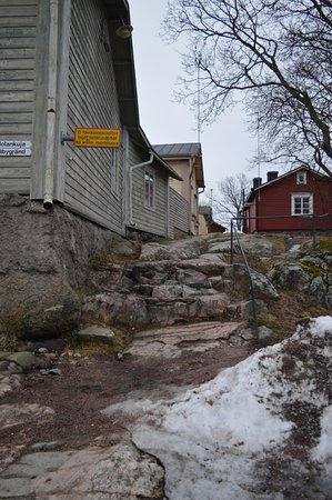 Порвоо, Финляндия: можно подскользнуться