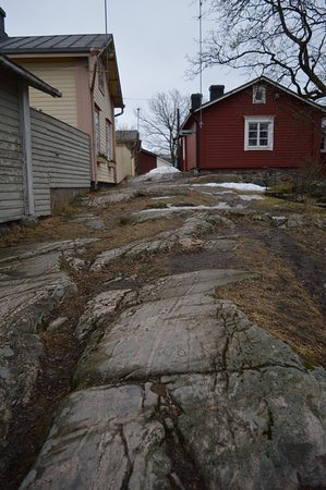 Порвоо, Финляндия: вот и вся Лестница Дьявола