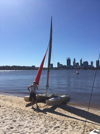 Funcats Watersports: Stunning views to go with a fun afternoon 😀