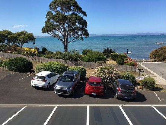 Amos House & Swansea Ocean Villas: View from bedroom