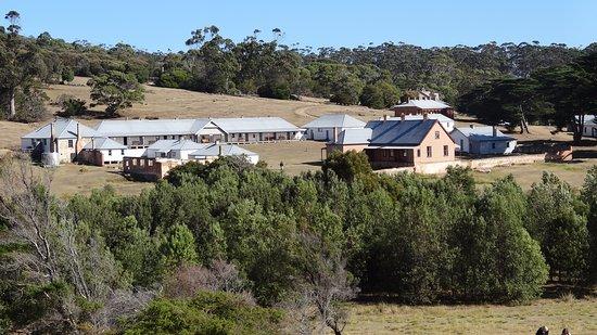 Triabunna, Austrália: Convict Buildings on Maria Island