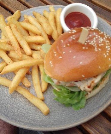 Brisbane Riverbar & Kitchen: Chicken Burger