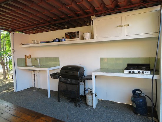 Brasilito, Costa Rica: Outdoor Rancho and shared kitchen