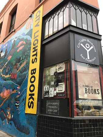 Photo of Historic Site City Lights Book Store at 261 Columbus Ave, San Francisco, CA 94133, United States
