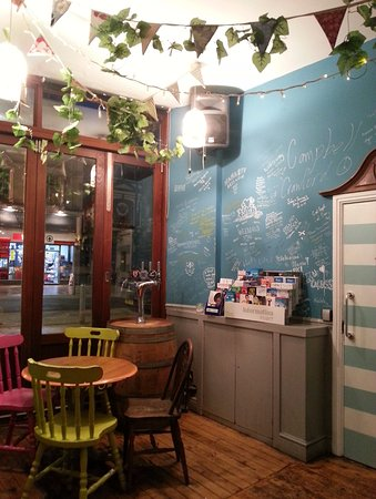 Bunk House: Writings on the wall