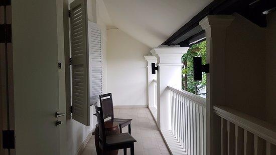 Amara Sanctuary Resort Sentosa: Verandah Suite balcony