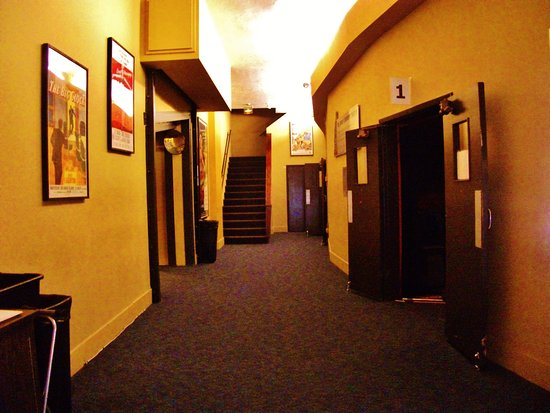 Hallway From Front Entrance To 1st Screen Out Of Three Movie Screens
