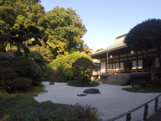 Hokokuji Temple (Takedera Temple): the japanese graden in the entrance