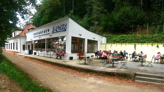 Pisek, République tchèque : venkovní terasa
