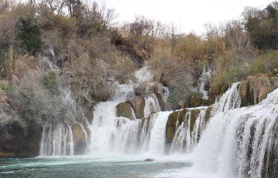 Skradin, Croatia: More waterfalls then you can count!