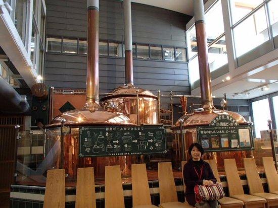 Kirishima Factory Garden : 霧島はビールも作っているらしい