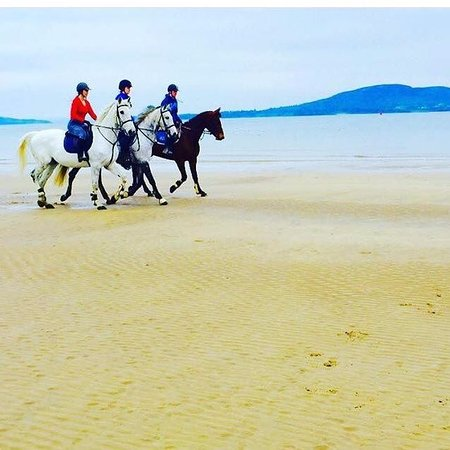 Buncrana, Ierland: Beach Ride