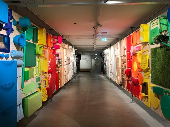exhibit of ikea furnitures - Picture of IKEA Museum, Almhult