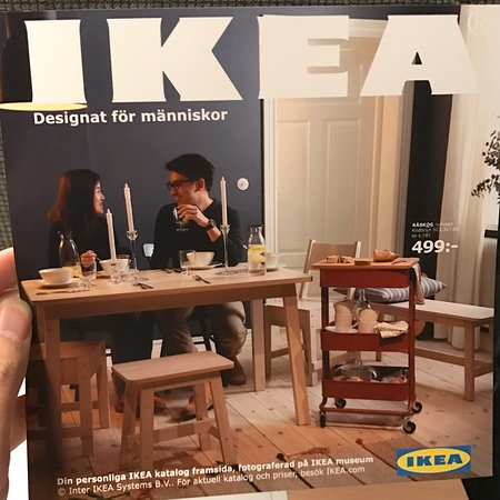 the only place to get yourself on an ikea catalog front