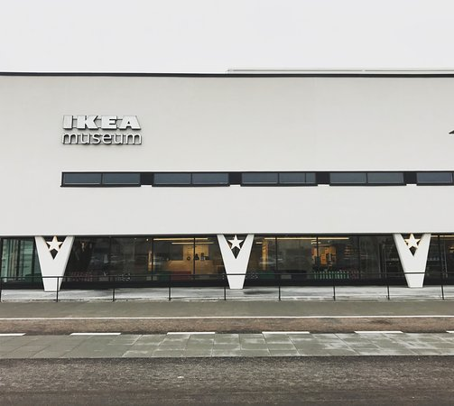 Almhult, السويد: first ikea in the world, now a museum