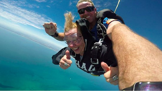 Rottnest Island, Australia: Free falling from 15,000 feet