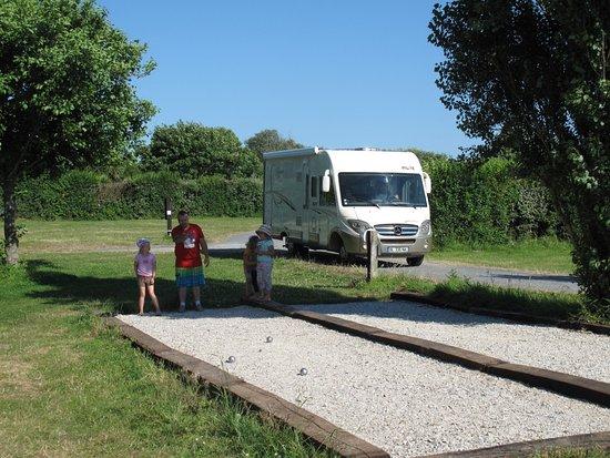 Gatteville-le-Phare, Francia: Terrain de petanque