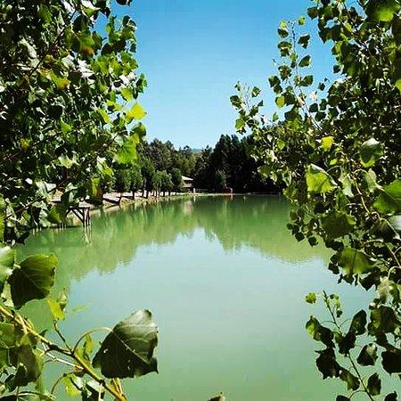 Hotel Rural Noguera de la Sierpe: Preciosa vistas del lago.