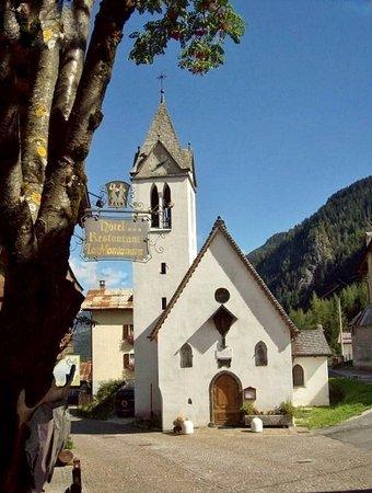 Rocca Pietore, Italien: La chiesetta quattrocentesca