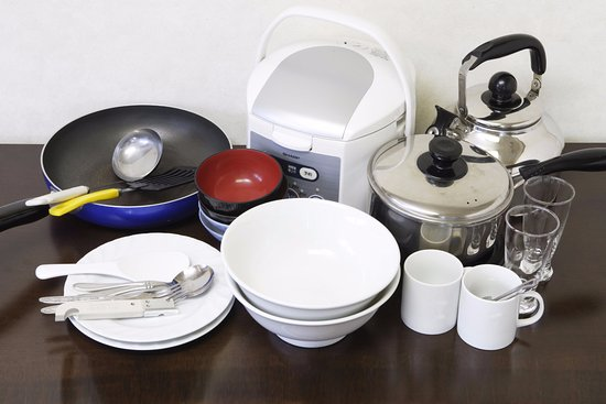 Itabashi, Japan: kitchenware