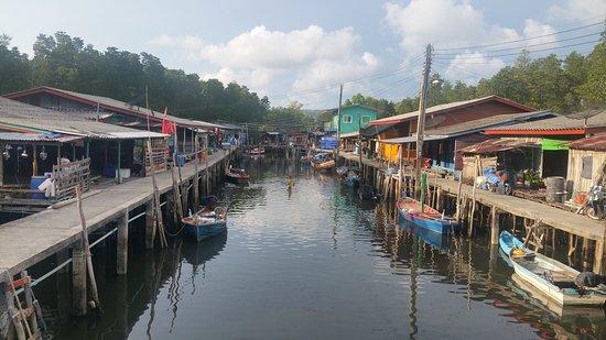 Khlong Yai, Thaïlande : Schönes Fischerdorf nette Menschen