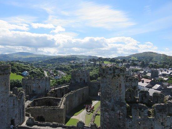 Conwy Castle ภาพถ่าย