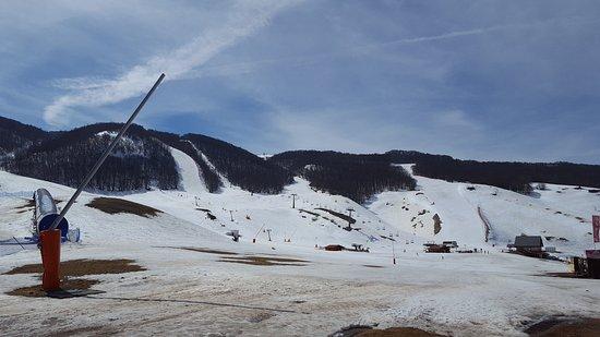 Rocca di Cambio, Италия: Piste da sci