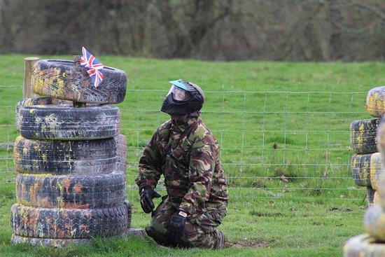 Hereford, UK: Capturing the enemy flag