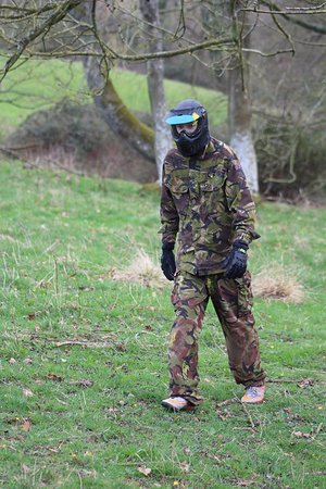 Hereford, UK: The walking dead - clean head shot !