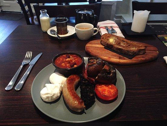 Ramsbottom, UK: Proper breakfast