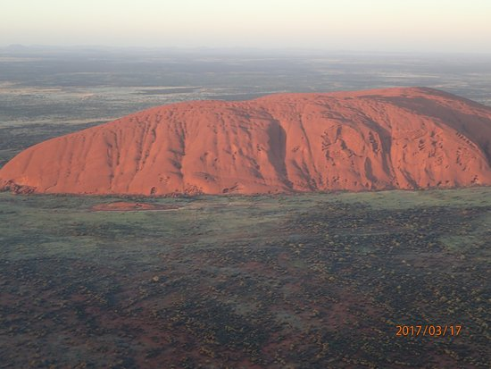Yulara, Australia: helicopter Flight over Uluru