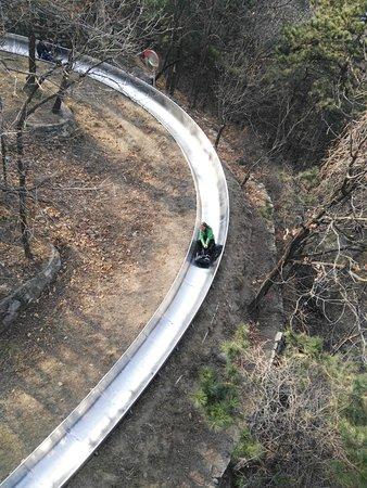 Wild Great Wall Adventure: Great Wall mutianyu toboggan