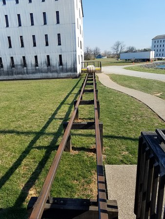 Bardstown, KY: the barrell rails