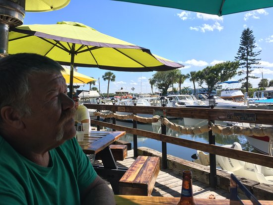 Micco, Floride : Mar 2017 on the deck