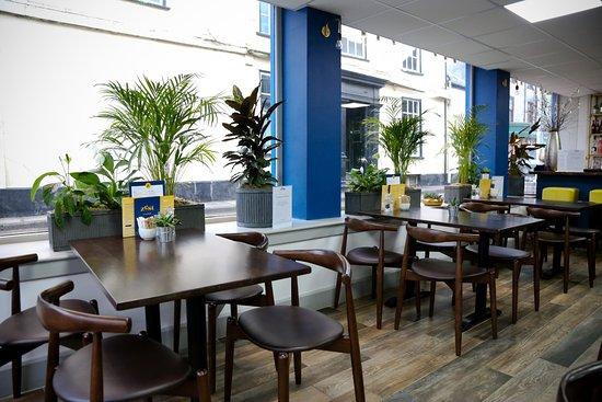 South Molton, UK: the restaurant