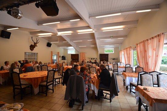 Montfiquet, Frankreich: Dining after Mass