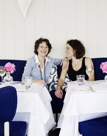 St Mawes, UK: Olga Polizzi and Alex